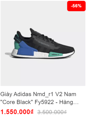 Mua giày Adidas nam giới chính hãng giá rẻ